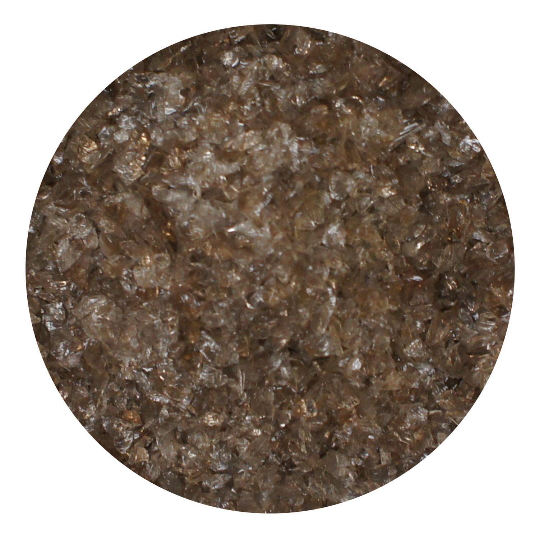 8.5 Oz Walnut Transparent Medium Frit- 96 COE