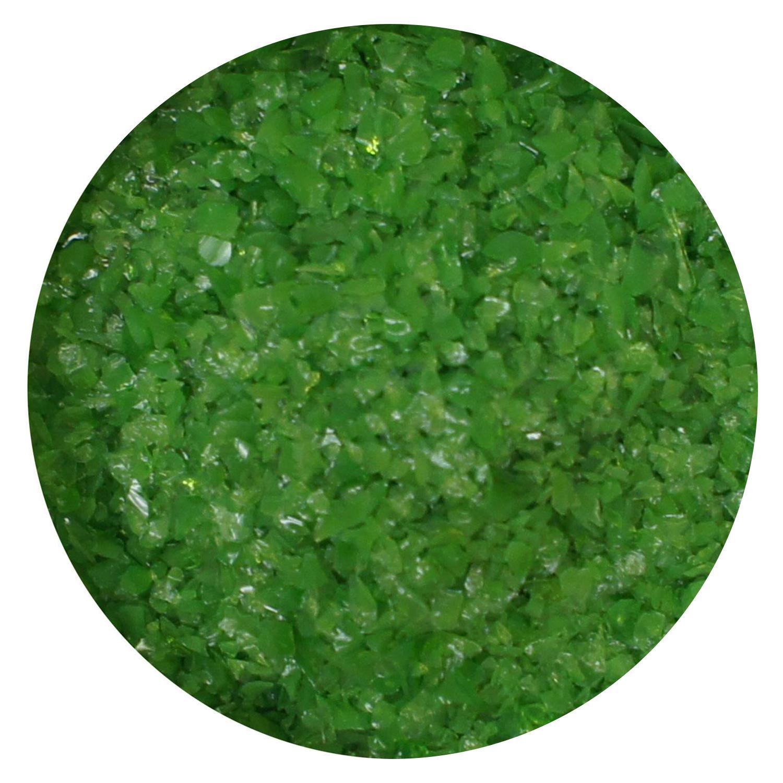 8.5 oz Fern Green Opal Medium Frit - 96 COE