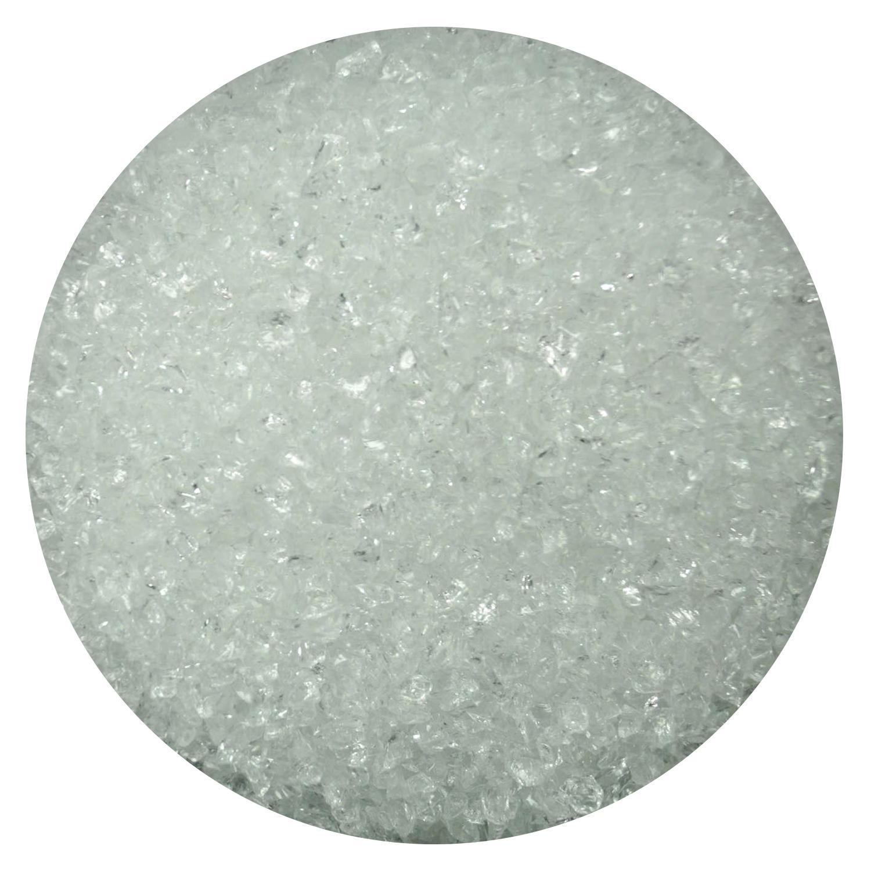 4 Lb Clear Medium Frit- 96 COE