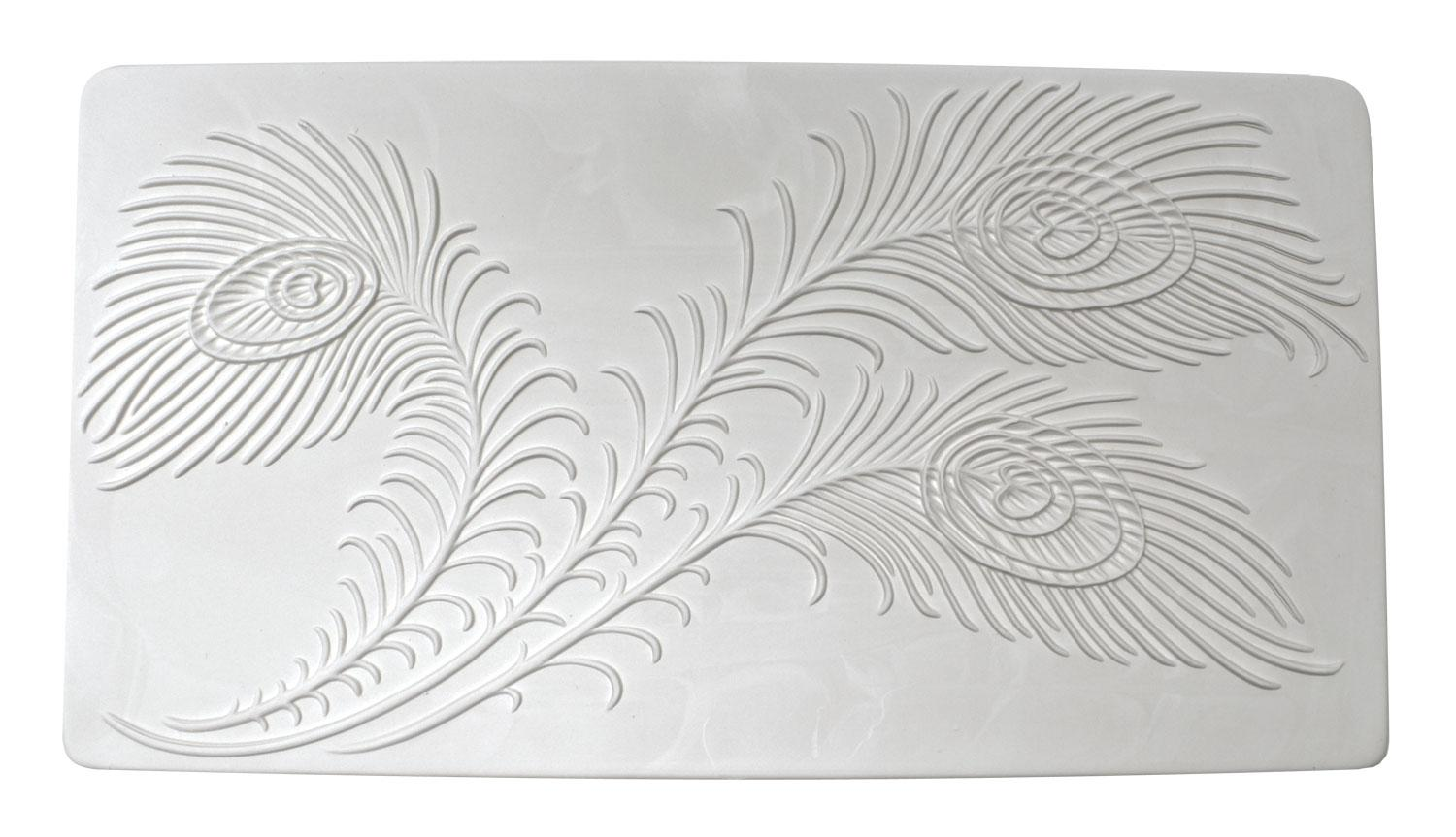 Peacock Feathers Texture Mold