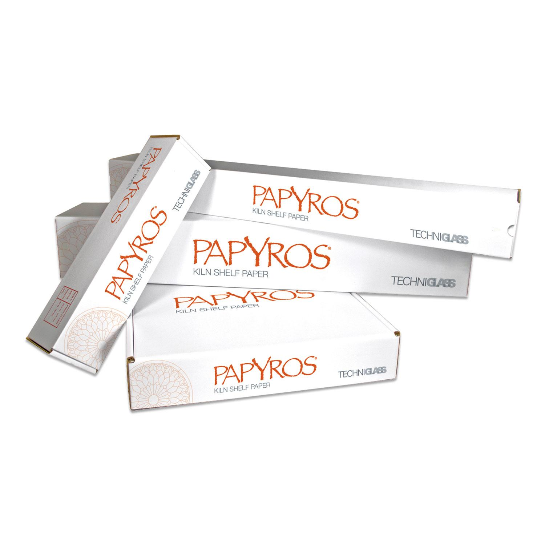 Papyros Kiln Shelf Paper Commercial Roll 41 x 250 Feet