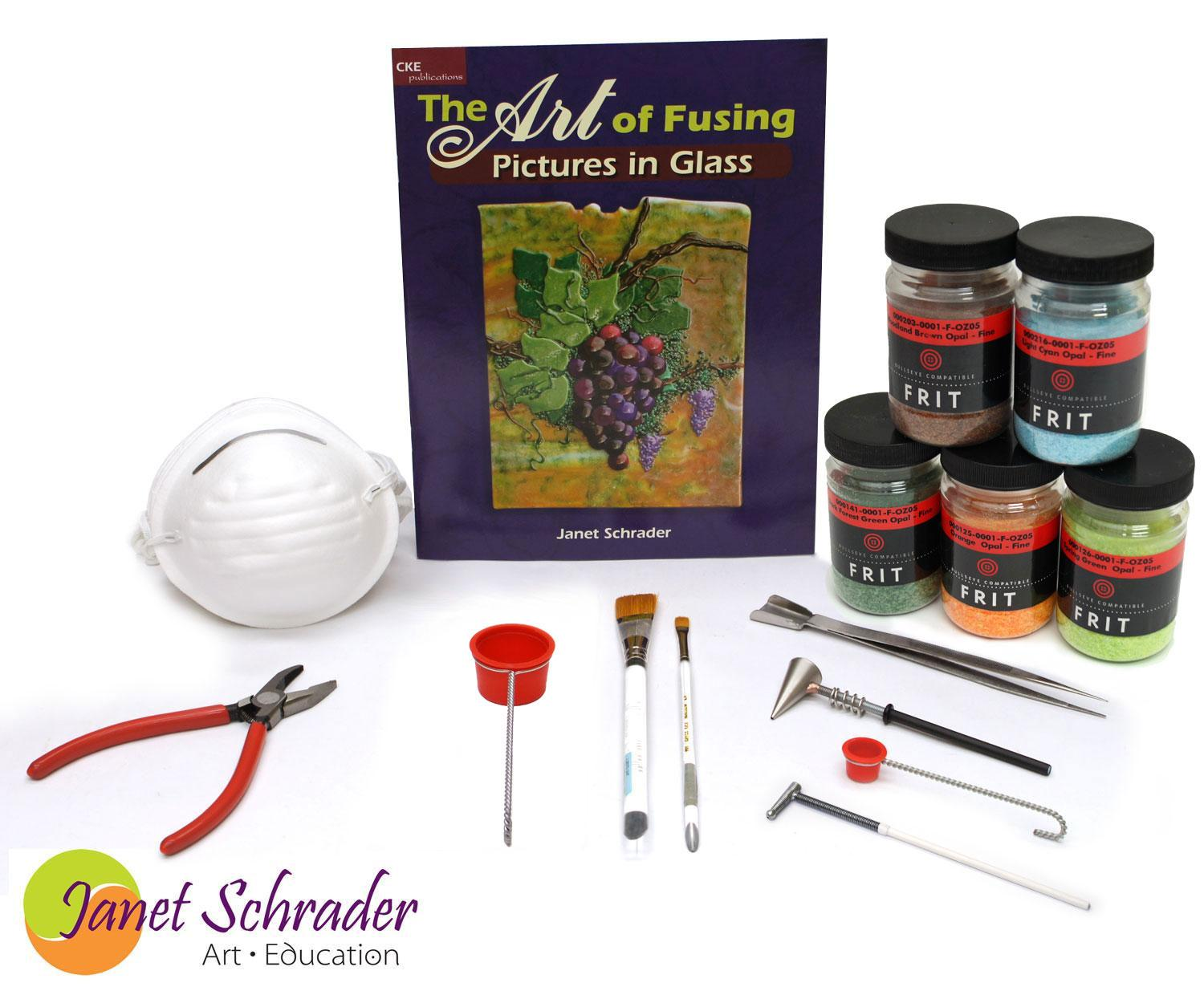Janet Schrader Pictures in Glass Kit - 90 COE