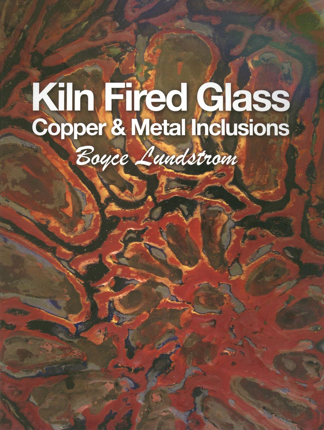 Kiln Fired Glass Copper and Metal Inclusions