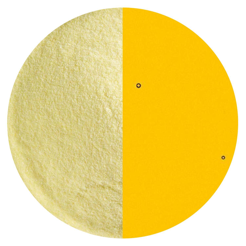 5 Oz Marigold Yellow Transparent Striker Powder Frit - 90 COE