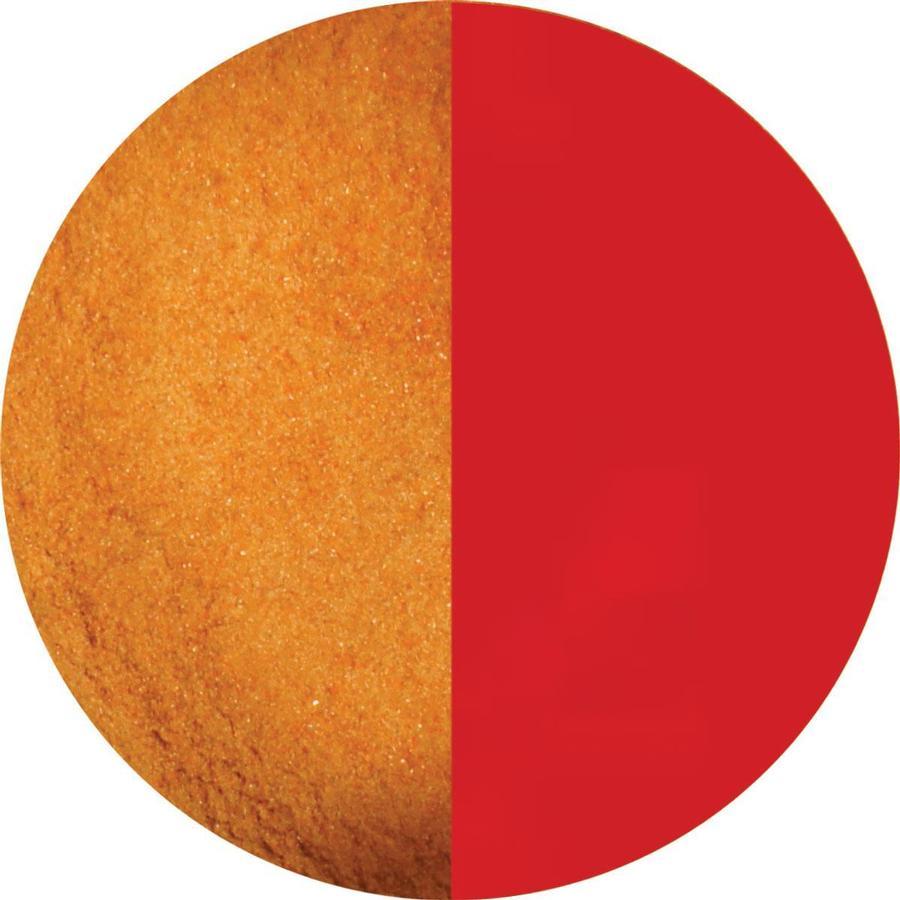8.5 oz Grenadine Red Transparent Powder Frit - 96 COE