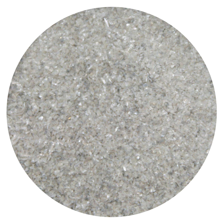 8.5 Oz Pewter Opal Fine Frit - 96 COE