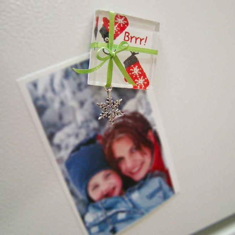 Free Fridge Snowflake Magnet Project Guide