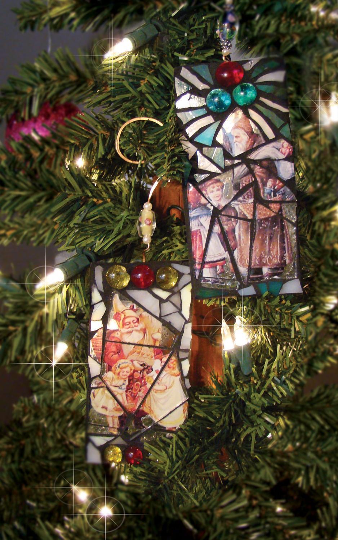 Free Victorian Santa Ornaments Project Guide