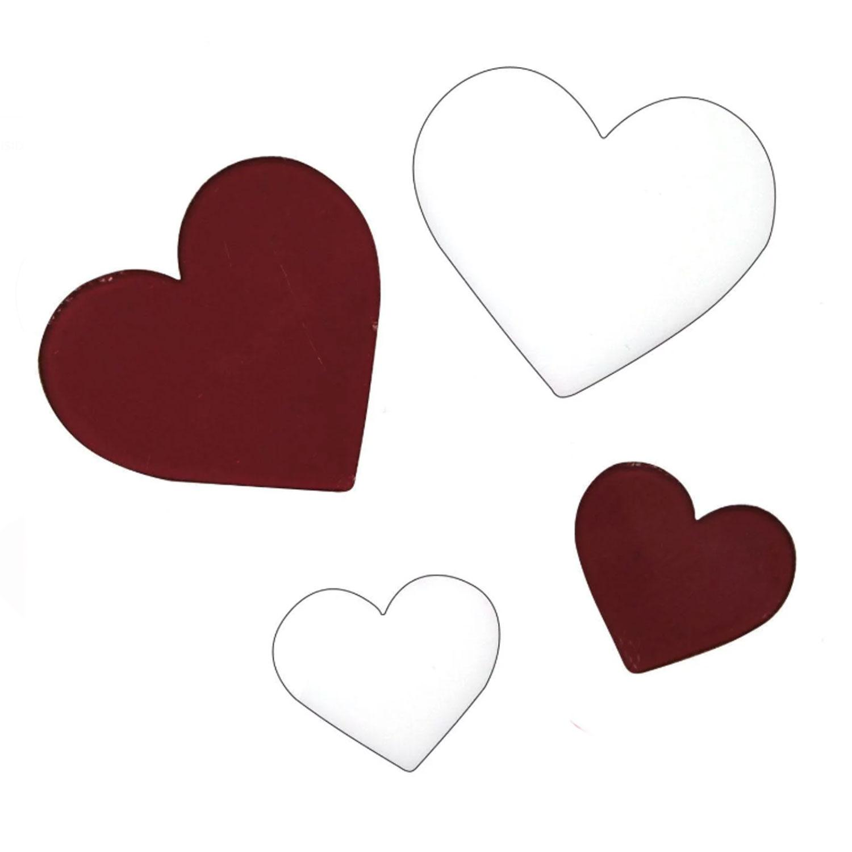 Heart Fusible Pre-Cut Assortment 4 Pack - 96 COE