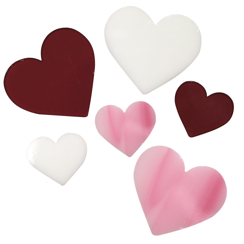 Heart Fusible Pre-Cut Assortment 6 Pack - 90 COE