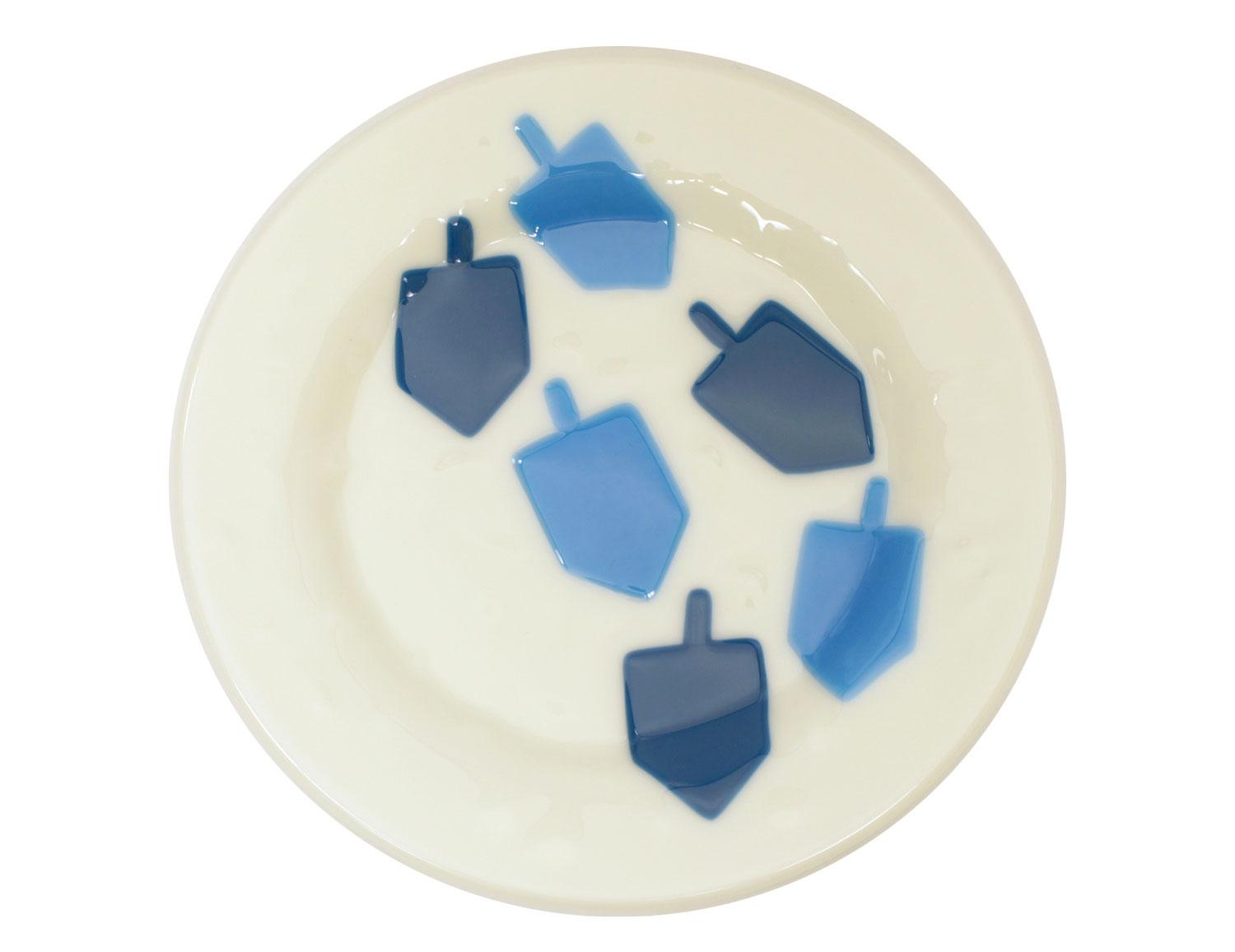 Free Dreidel Plate Project Guide and Pattern