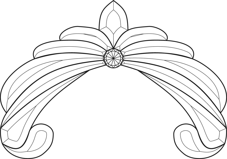 Crown Jewel Bevel Cluster