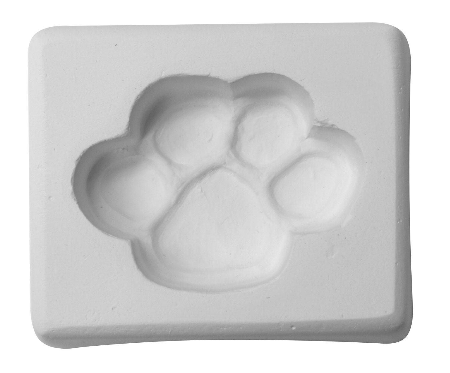 Paw Print Casting Mold
