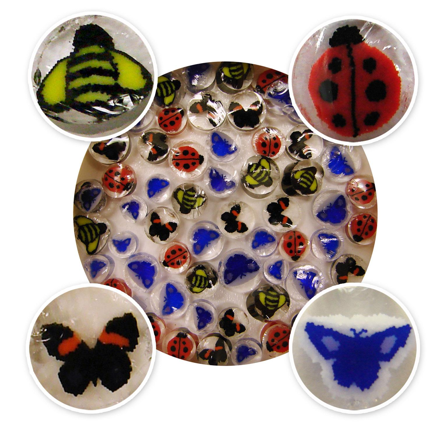 Bugs Life Millefiori Assortment - 96 COE