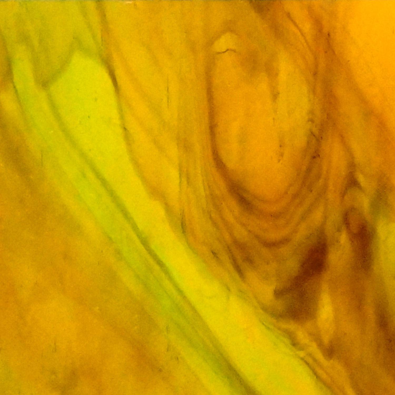 Kokomo Brown, Green, Yellow Transparent Streaky