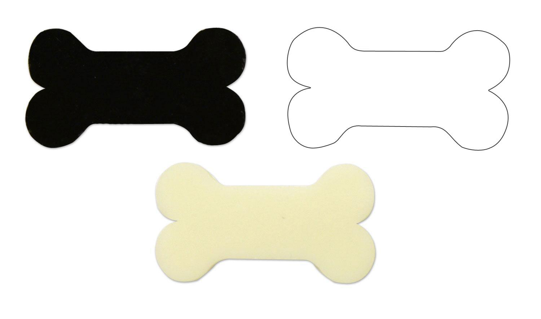 Dog Bone Fusible Pre-Cut Assortment 3 Pack - 90 COE