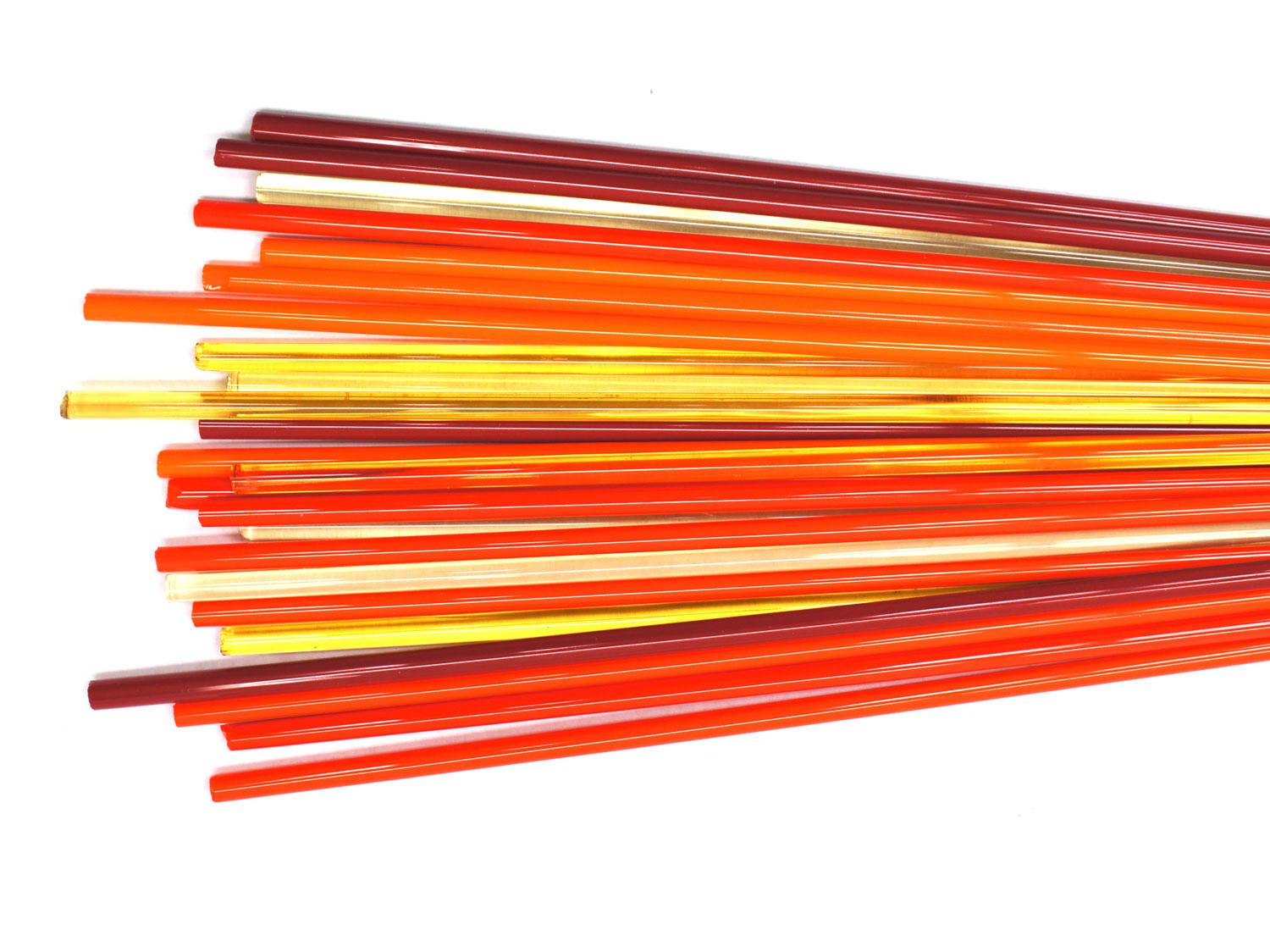 Fire Effetre Rod Assortment - 104 COE