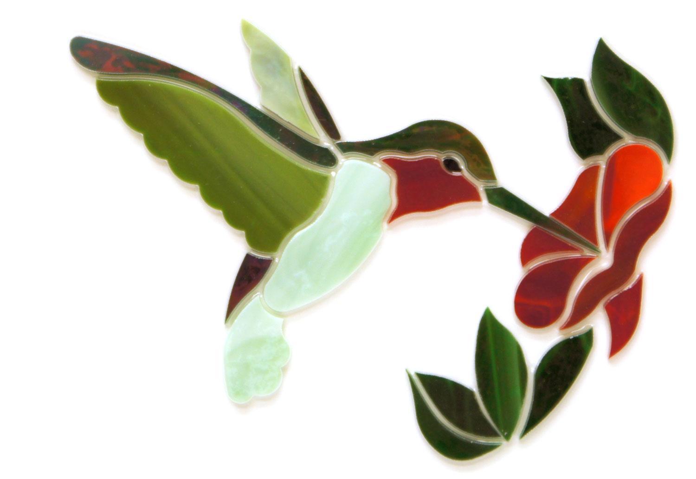 Green Hummingbird with Flower Premium Pre-Cut Kit
