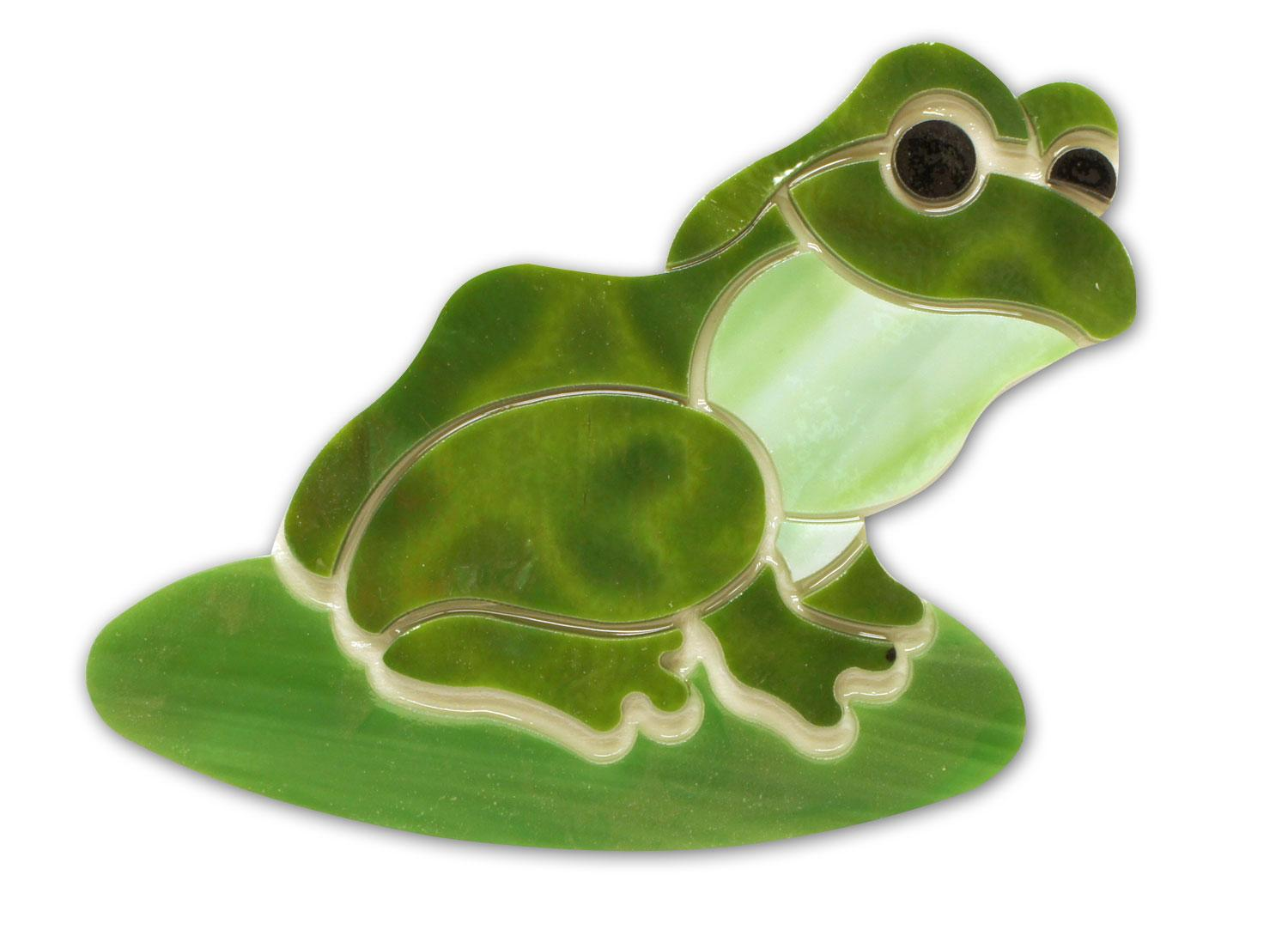 Frog On Lily Pad Premium Pre-Cut Kit
