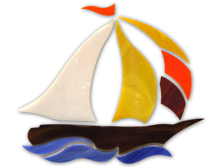 Sailboat Premium Pre-Cut Kit