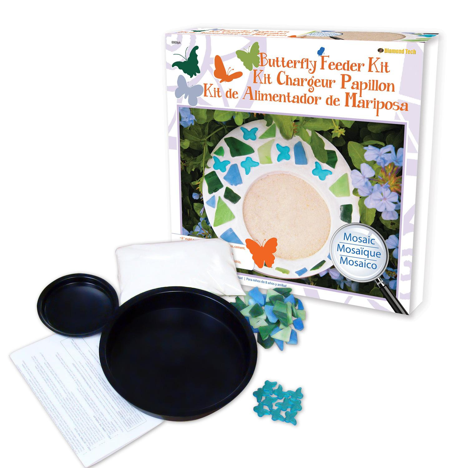 Mosaic Butterfly Feeder Project Kit