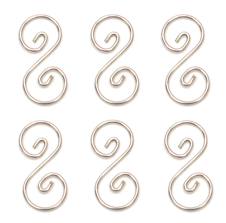 1-1/2 Pre-Tinned Curly Q Hanger - 6 Pack