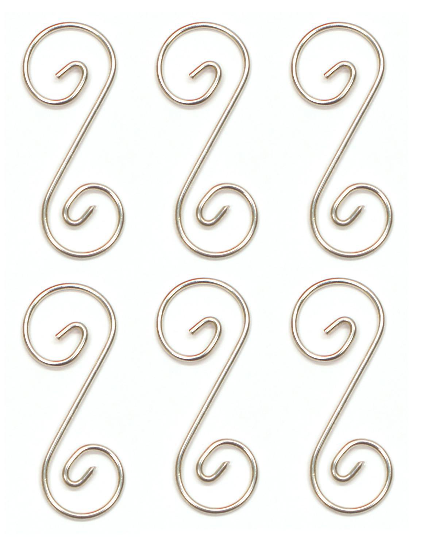 2 Pre-Tinned Curly Q Hanger - 6 Pack
