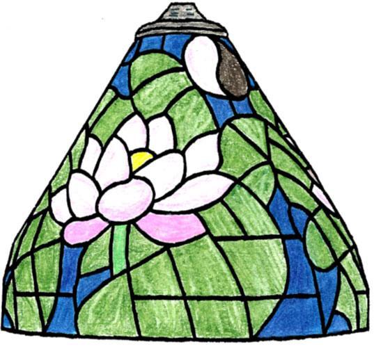 7 Yin Yang/Lotus Lamp Pattern