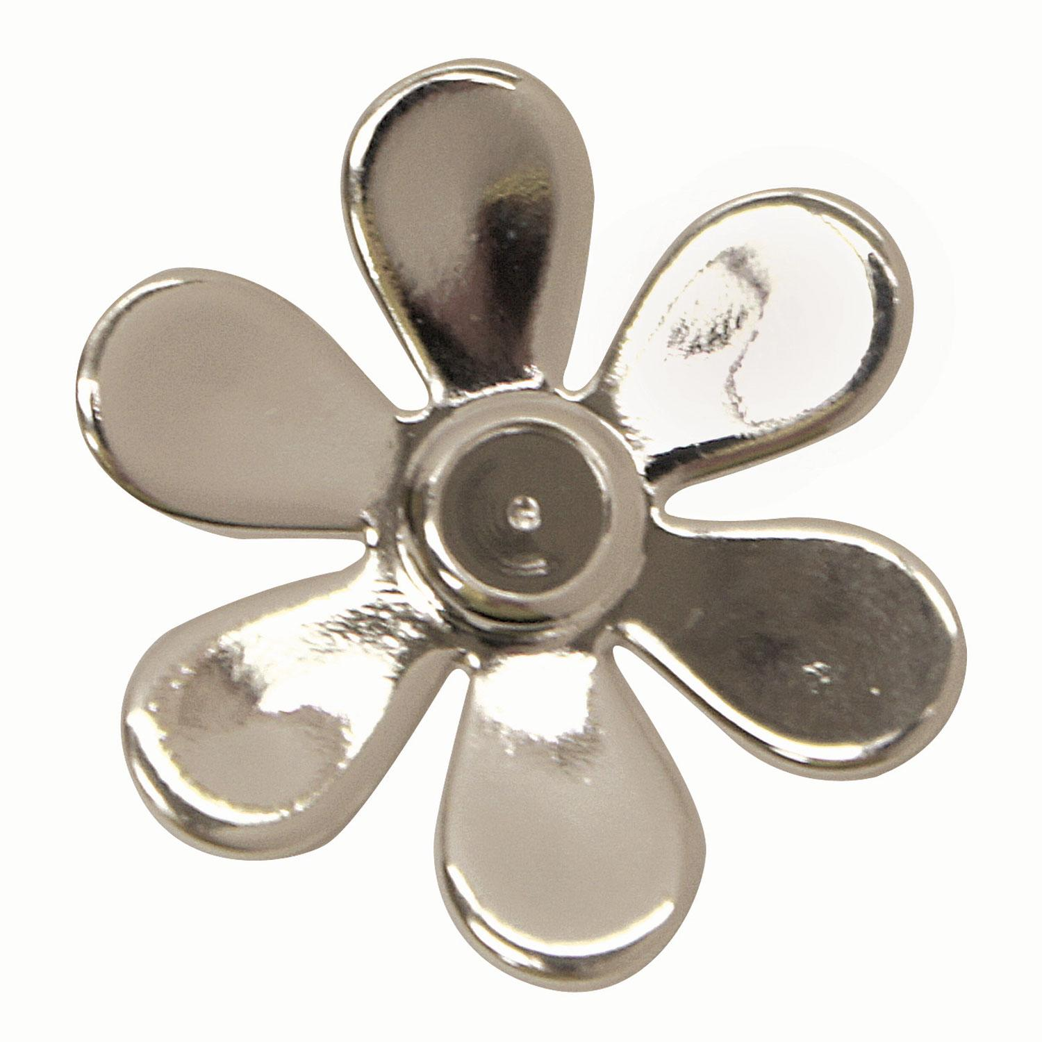 Silver Plated Flower Pendant