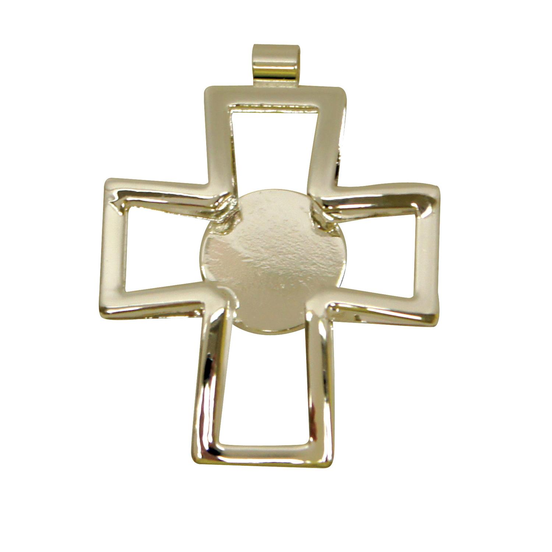 Silver Plated Cross Pendant