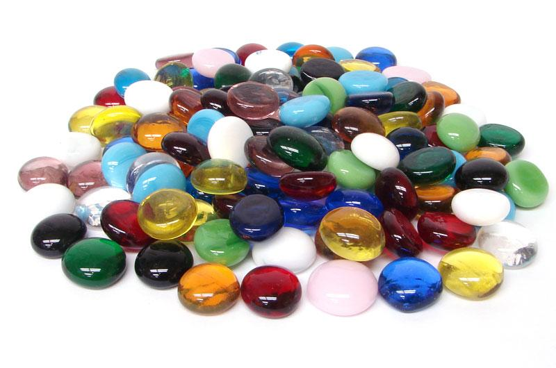 Mixed Color Assortment Pebbles - 96 COE