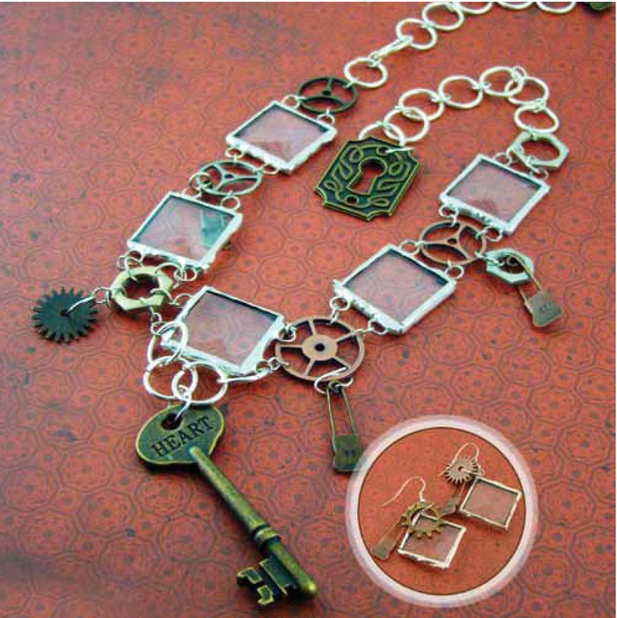 Free Soldered Art Steampunk Jewelry Project Guide