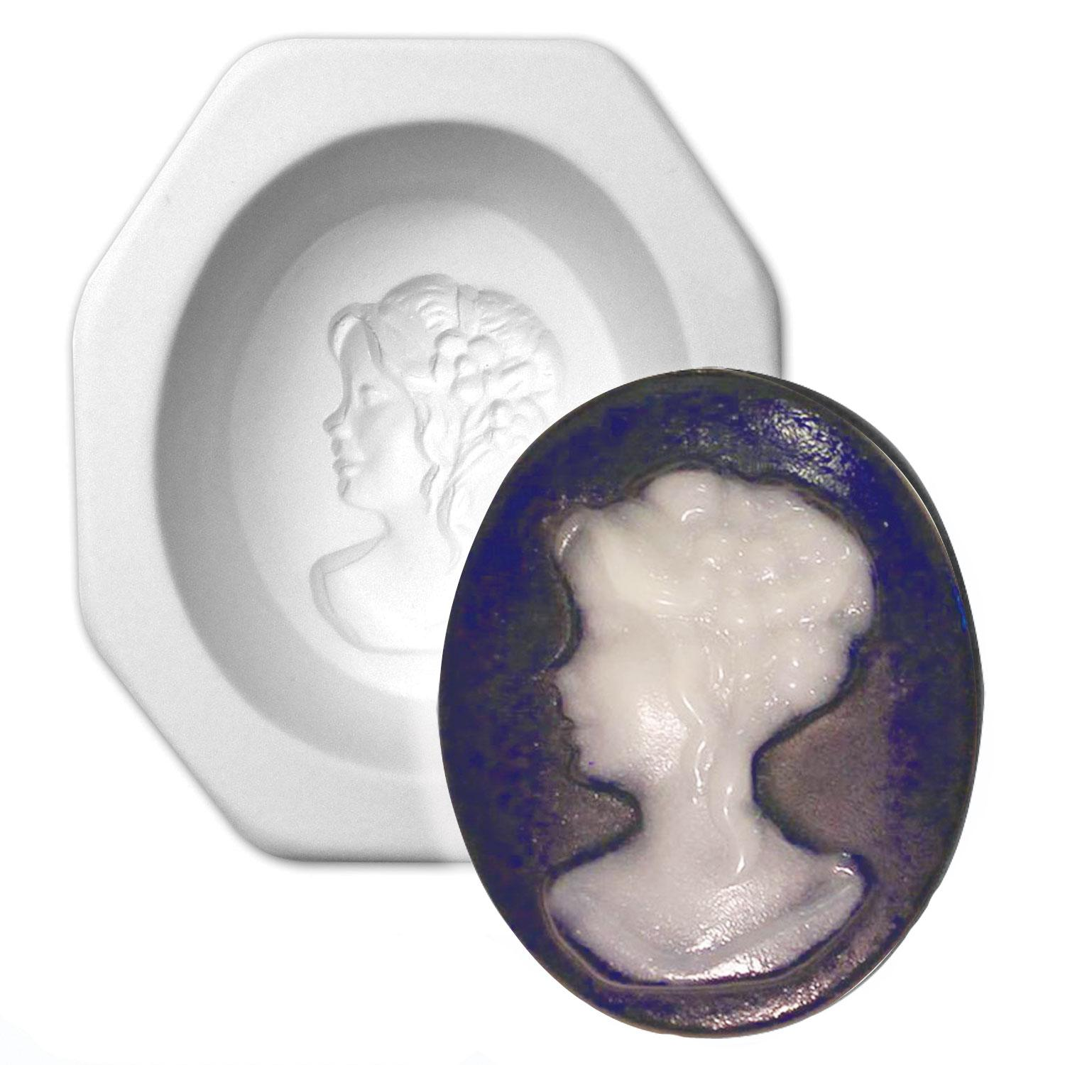 Victorian Cameo Jewelry Casting Mold