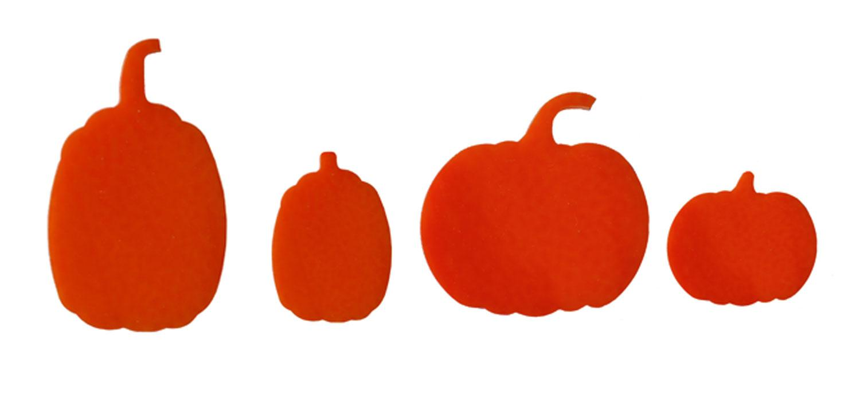 Pumpkin Fusible Pre-Cut Assortment 4 Pack - 96 COE