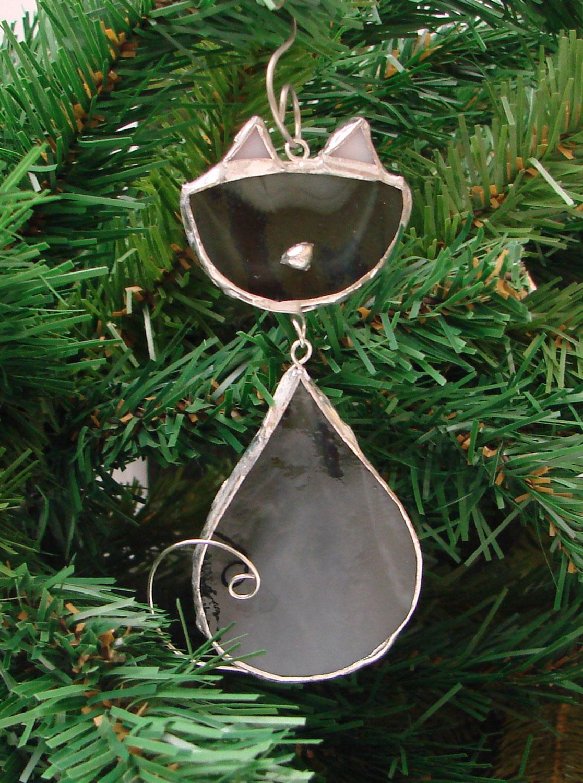 Free Scrap Glass Cat Ornament Project Guide