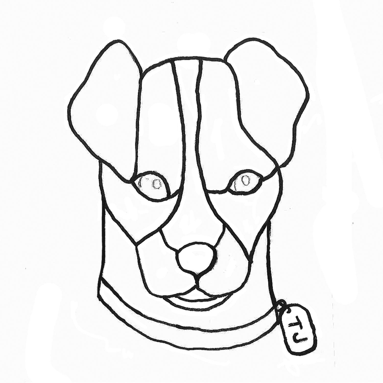 Free TJ The Dog Pattern