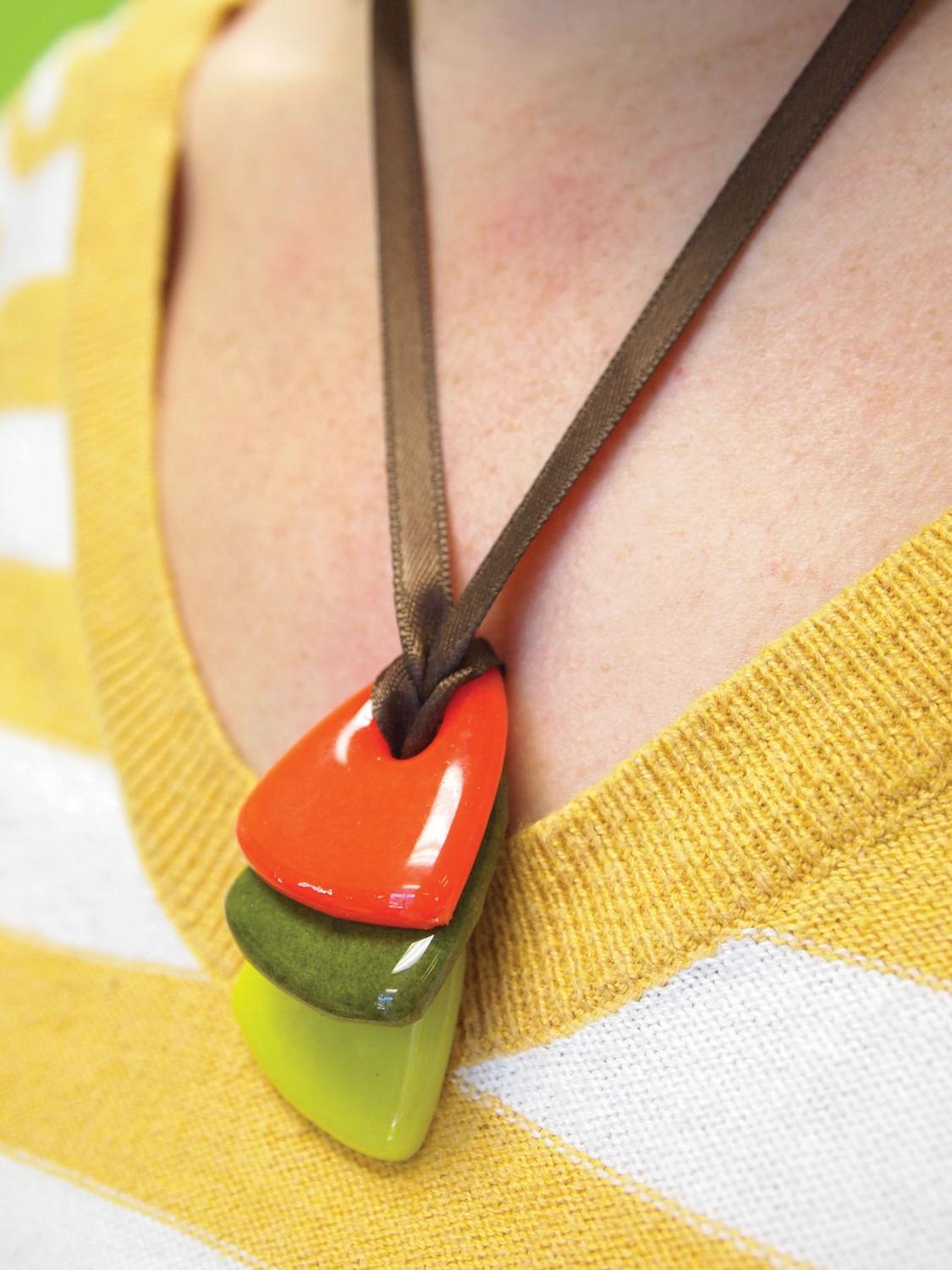 Free Fall Colors Necklace Project Guide