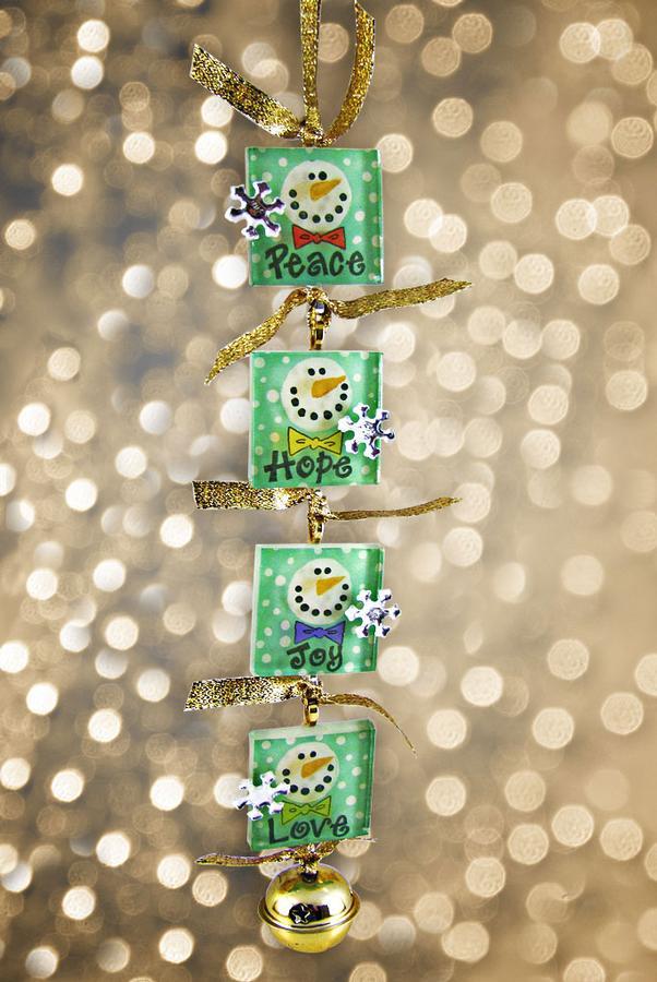Free Peace Love Hope Joy Snowmen Project