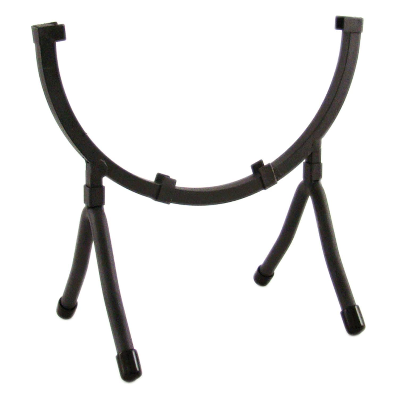 8 Round Black Iron Art Holder