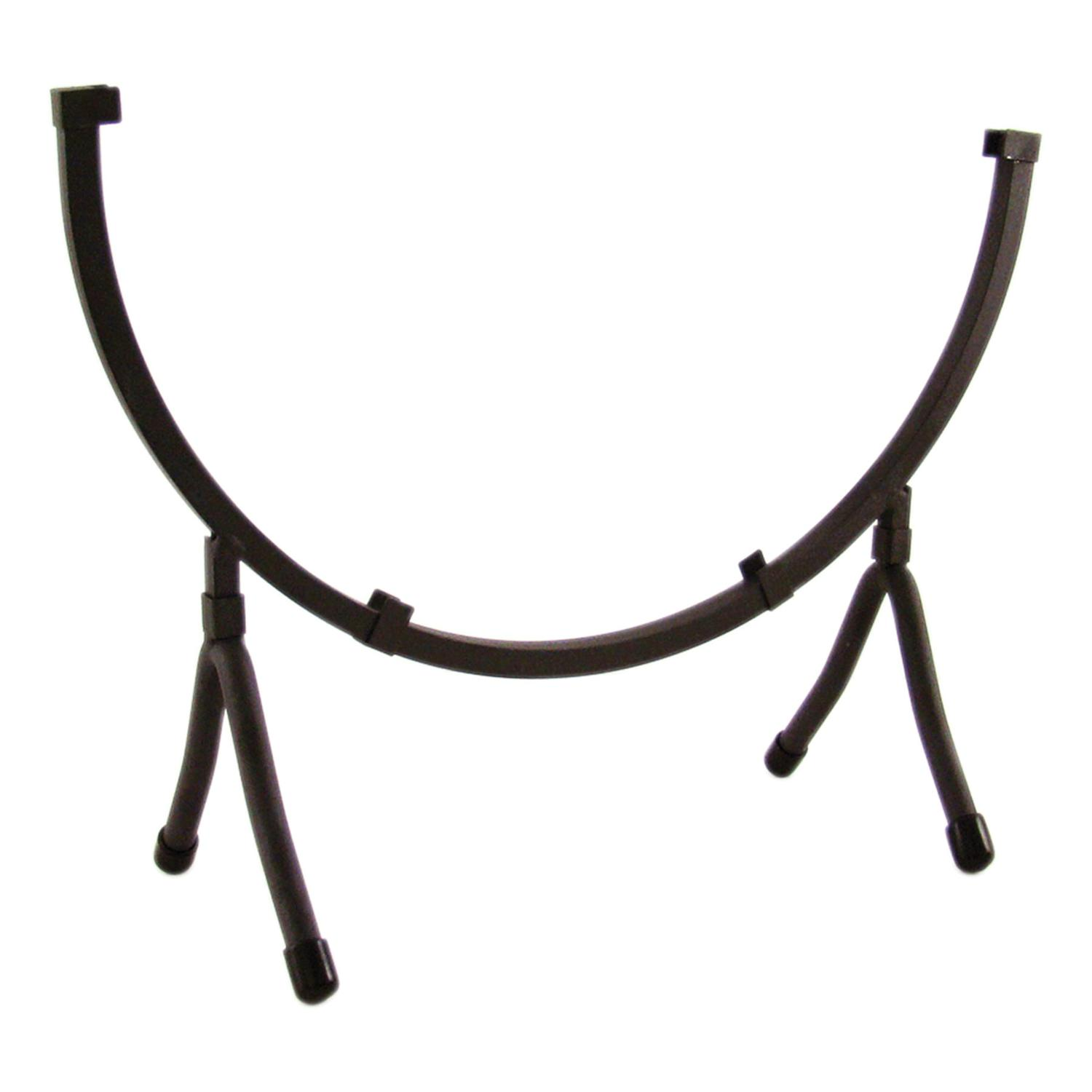 12 Round Black Iron Art Holder