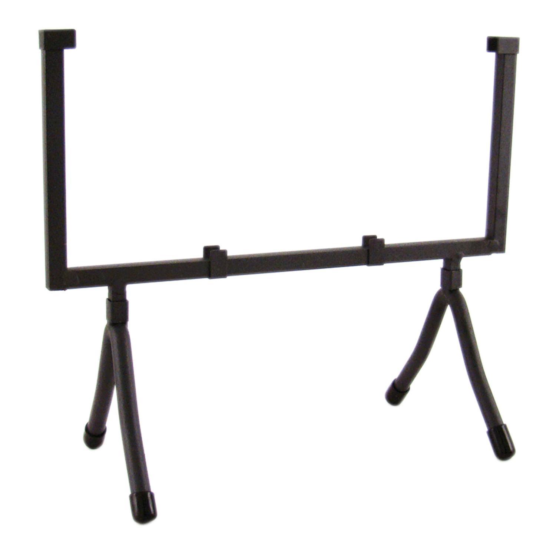 10 Square Black Iron Art Holder