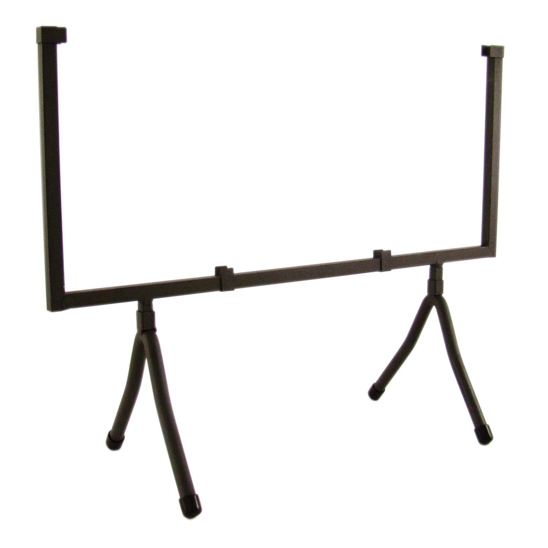 14 Square Black Iron Art Holder