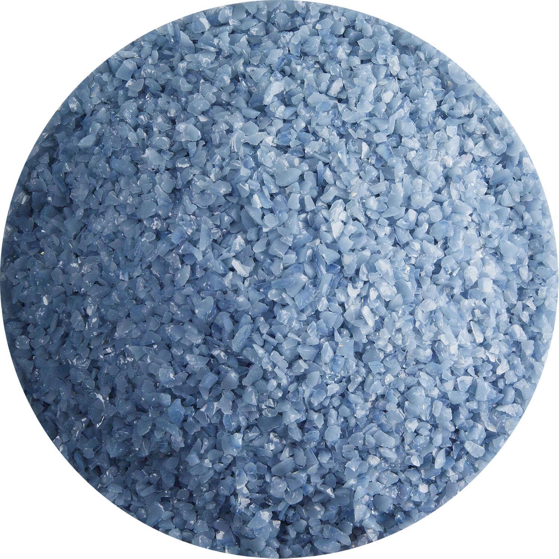 5 Oz Dusty Blue Opal Medium Frit - 90 COE