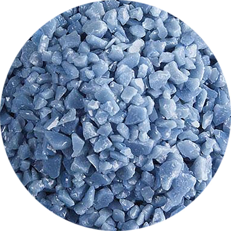 5 Oz Dusty Blue Opal Coarse Frit - 90 COE