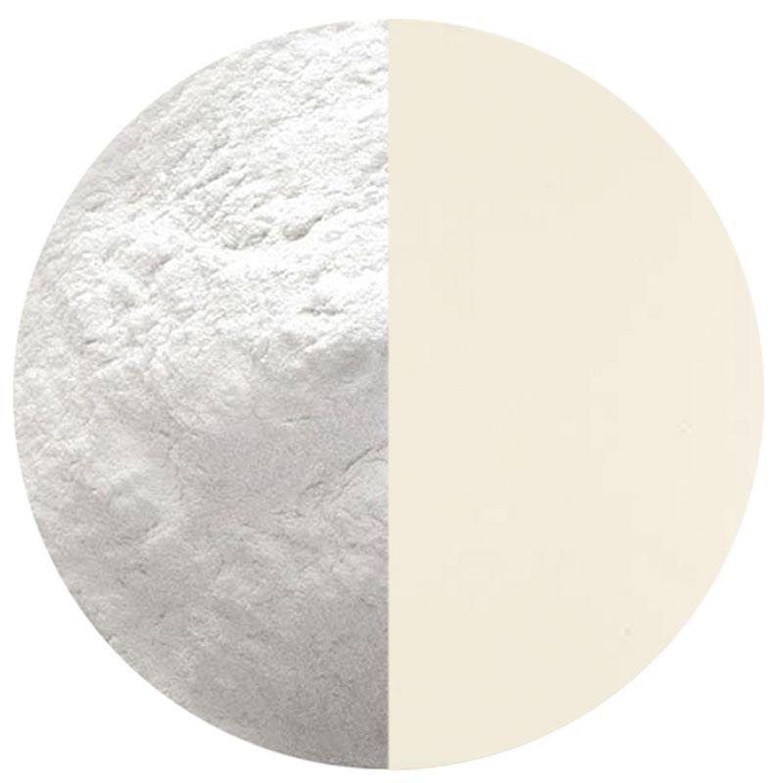 5 Oz Warm White Opalescent Powder Frit - 90 COE