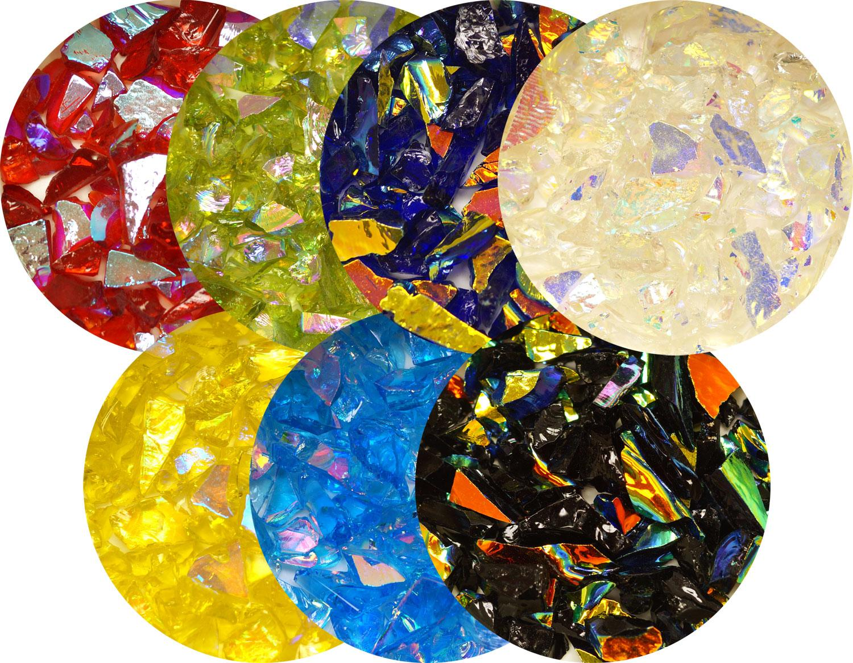 DichroMagic Colored Dichroic Frit Sampler - 90 COE