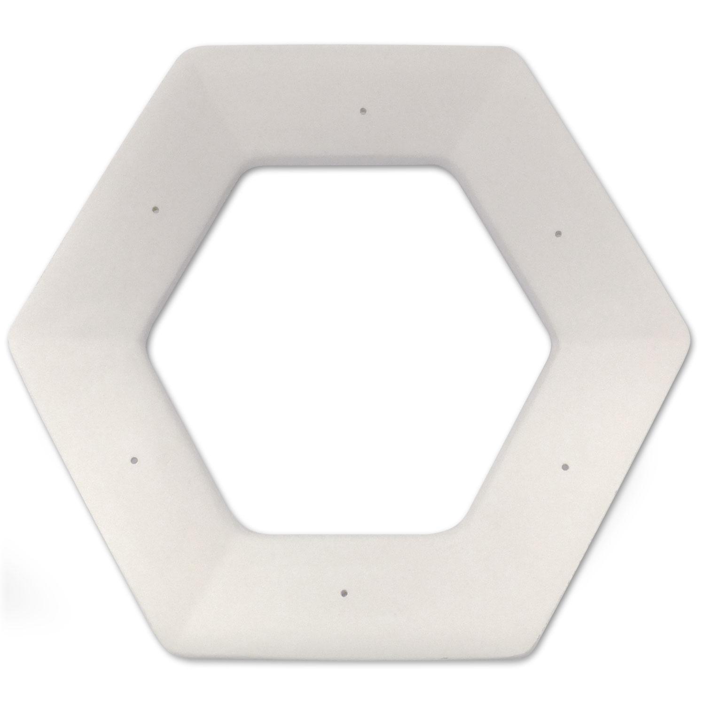 10 Hexagonal Drop Ring Mold
