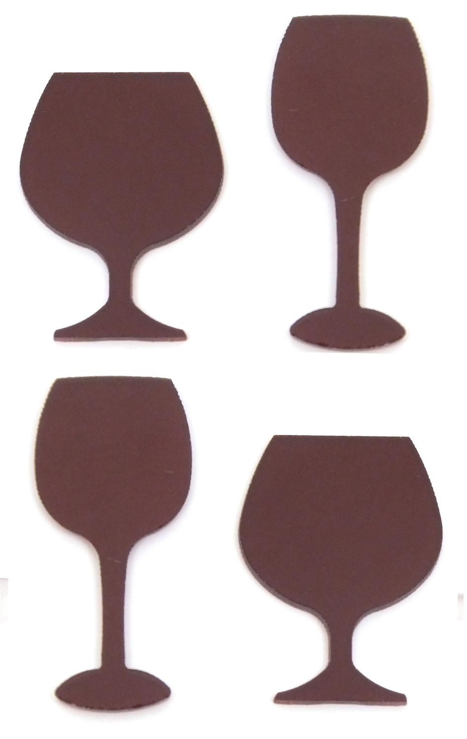 Purple Stemware Fusible Pre-Cut Assortment 4 Pack - 96 COE
