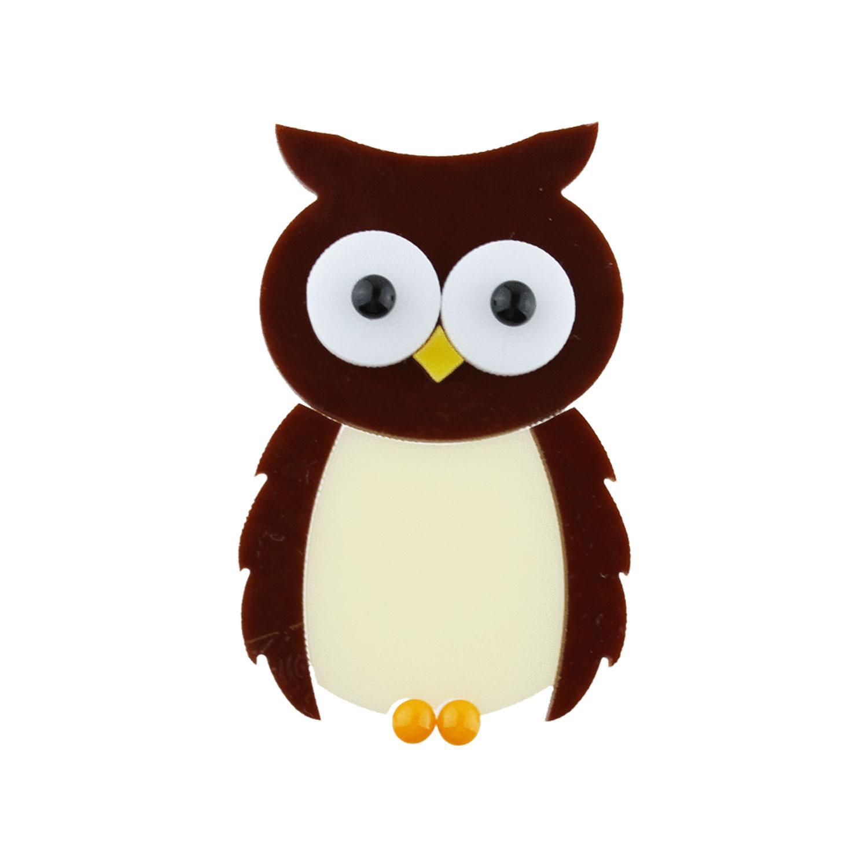 Brown Owl Fusible Pre-Cut - 90 COE