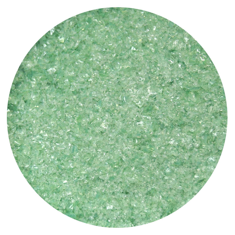 5 Oz Mineral Green Opal Fine Frit - 90 COE
